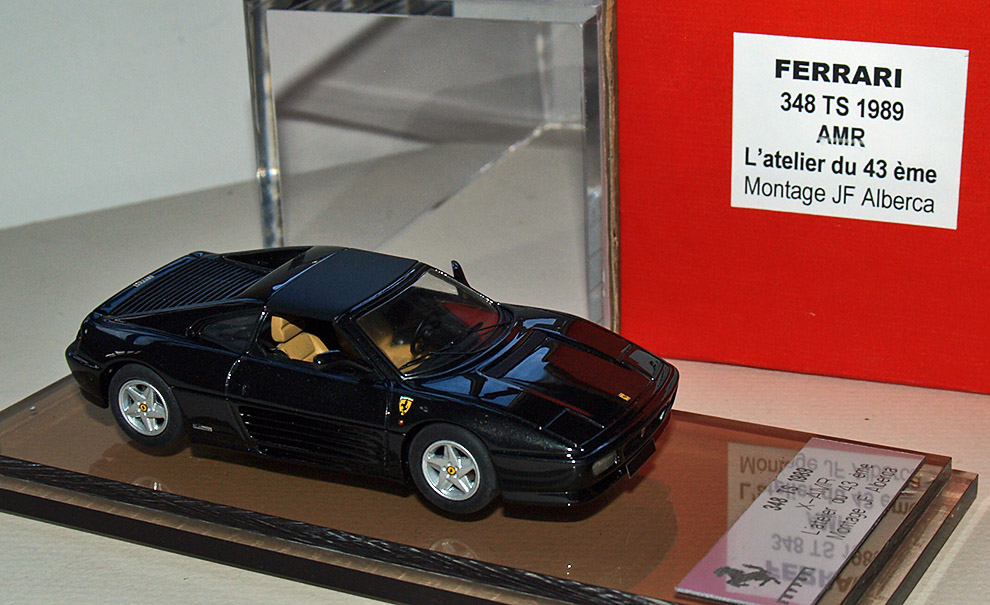 JF Alberca : Ferrari 348 TS with top in brass